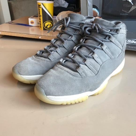 new style 97b7c 86a91 Jordan 11 Pinnacle Grey Suede